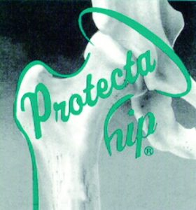 Plum's® ProtectaHip® provides generous coverage & protection against hip fractures surrounding the greater trochanter