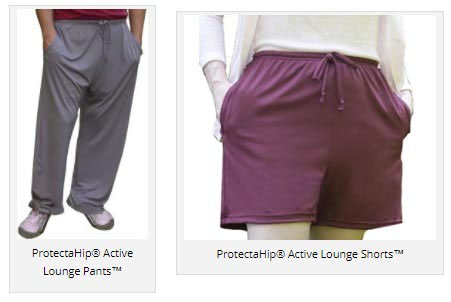 Plum's® ProtectaHip® Active Lounge Pants™ & ProtectaHip® Active Lounge Shorts™ Hip Protectors